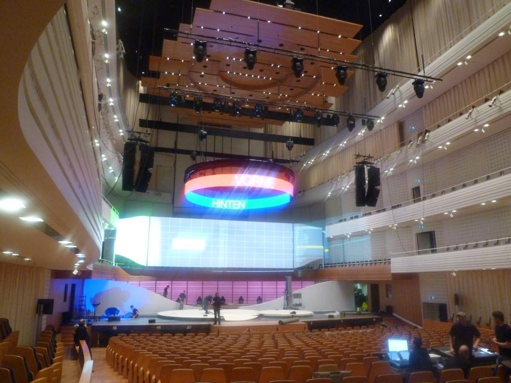 Kultur- und Kongresszentrum am See, Konzerthalle, Luzern, Schweiz