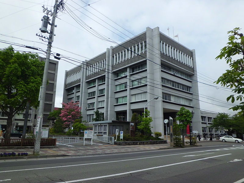 City Hall, Ueda, Japan